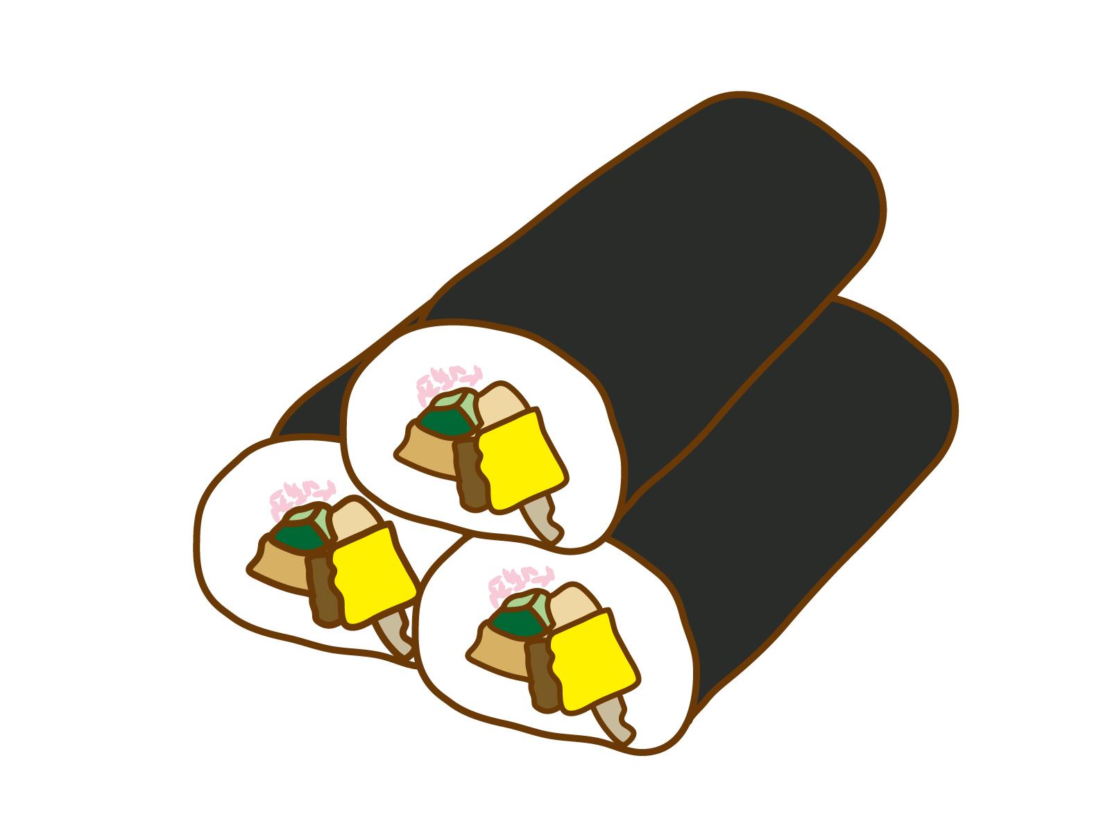 恵方巻きの由来は花街の遊女遊び・セクハラ行為?!