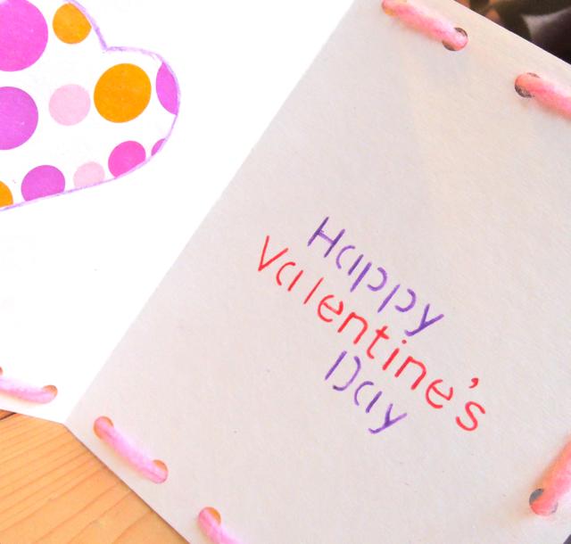 バレンタインカードは手作りで♥簡単だけど想いは届く!