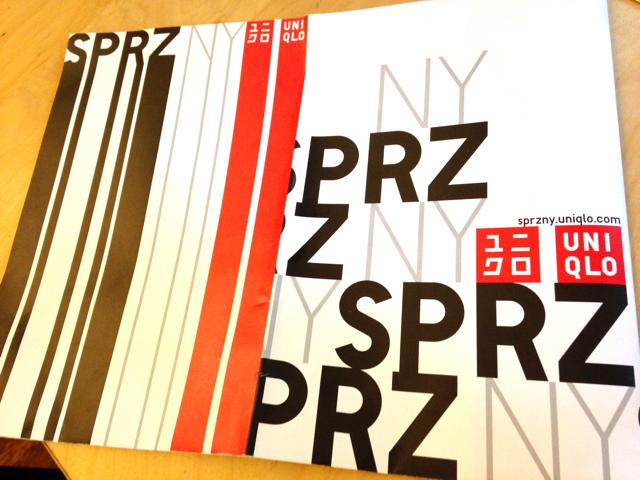 ユニクロ誕生30周年〜SPRZ NYコラボ & NY店レビュー★