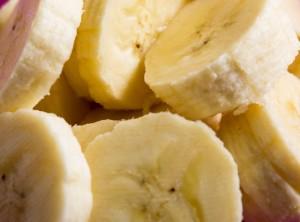 冷凍保存 薄切りバナナ