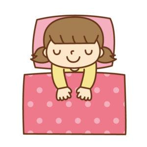 夜おむつはずし女子ピンクパジャマ